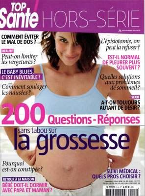 Top santé, hors-série grossesse